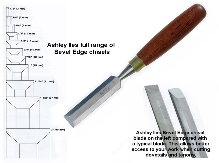 "3mm 1/8"" Mk2 Bevel Edged Chisel"