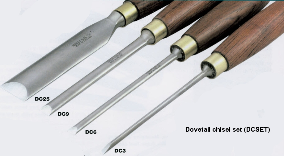 Dovetail Chisel Set of 4