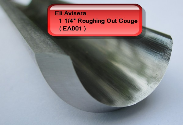 "31mm 1 1/4"" Eli Avisera Roughing Out Gouge (ROG)"