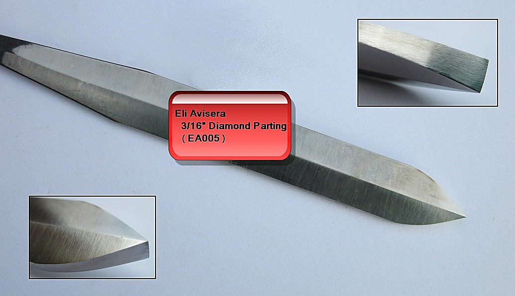 "4.5mm 3/16"" Eli Avisera Diamond Parting Tool"