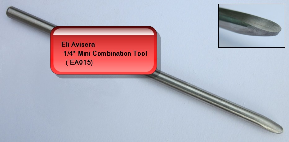 "6mm 1/4"" Eli Avisera Mini Combination Tool"