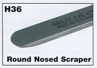 "9mm 3/8"" Mini Round Nosed Scraper"