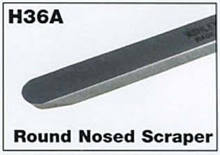 "6mm 1/4"" Mini Round Nosed Scraper"