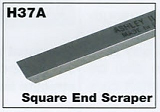 "6mm 1/4"" Mini Square End Scraper"