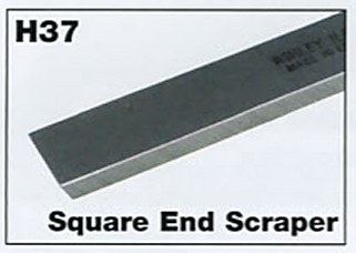 "9mm 3/8"" Mini Square End Scraper"