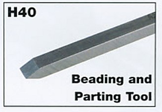 "3mm 1/8"" Mini Beading and Parting Tool"