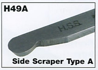 "9mm 3/8"" Mini Side Scraper Type A"