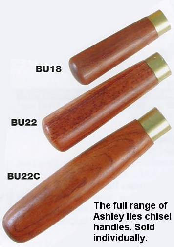 "Hardwood Butt Chisel Handle 3 1/2"" x 5/8"" (90mm x 18mm)"